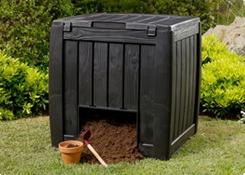 Compostbakken en materiaal
