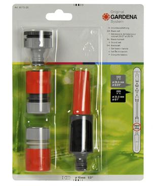 Set om tuinslang op kraan aan te sluiten spuitpistool for Tuinslang aansluiten op kraan zonder schroefdraad