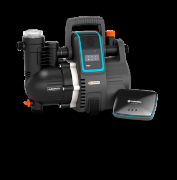 gardena smart pressure pump set. Black Bedroom Furniture Sets. Home Design Ideas
