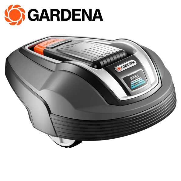 gardena robotmaaier r70li geluidloos en effici nt. Black Bedroom Furniture Sets. Home Design Ideas