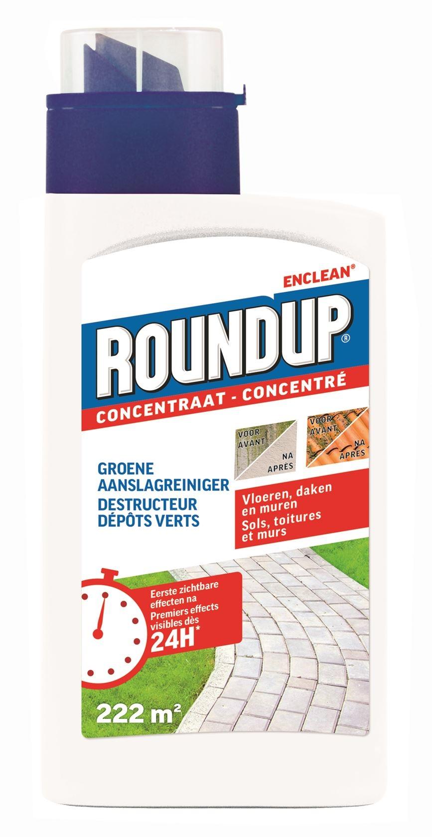 Groene aanslagreiniger Roundup 222m²