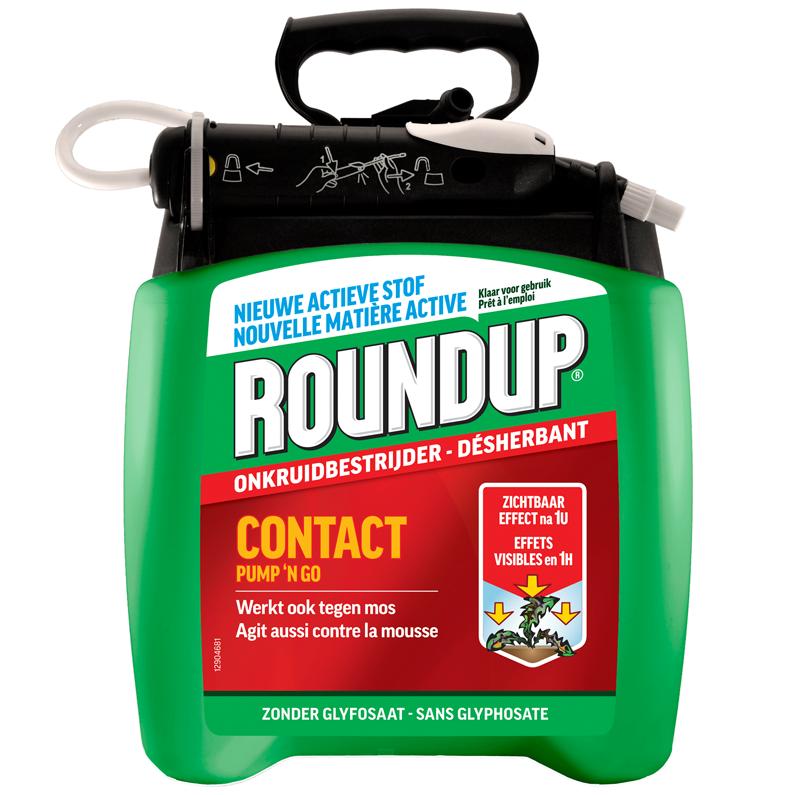 Roundup Pump 'n Go Totale onkruidbestrijder 5l