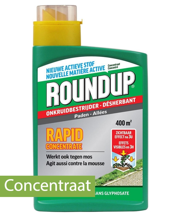 Roundup Rapid Onkruidverdelger tegen hardnekking onkruid 400m²