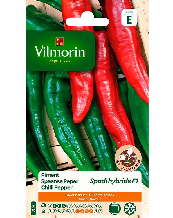 Spaanse peper zaden Spadi - Vele rode pepers per plant!  Jalapeno