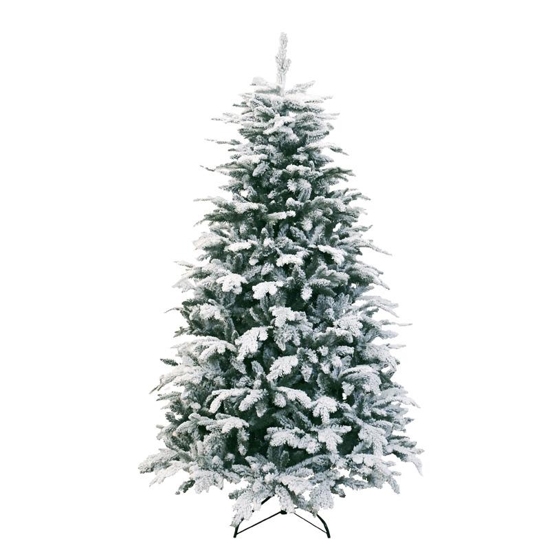 Kerstboom met sneeuw Oslo Mini 120 cm