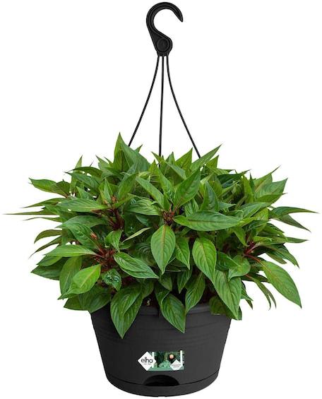 Elho Green Basics Hanging Basket 28 cm Levendig Zwart