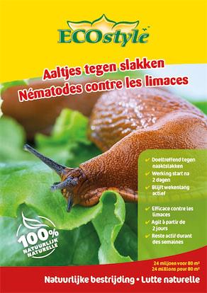 Ecostyle Aaltjes tegen slakken 80m²