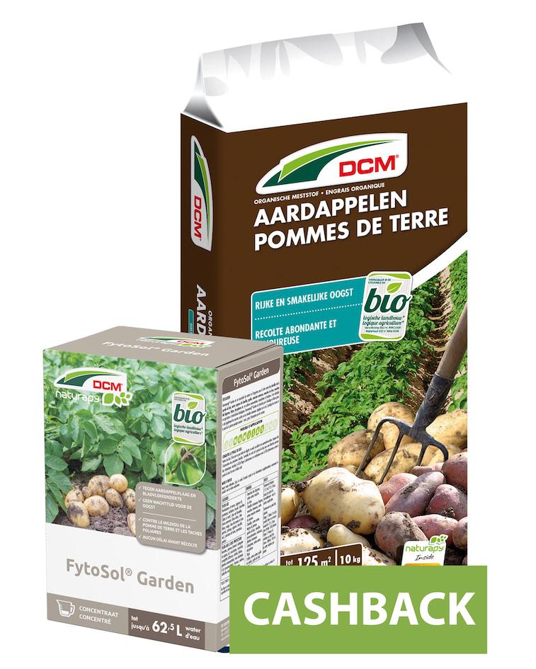 Aardappelplaag voorkomen pakket - CASCHBACK ACTIE