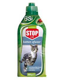Middel tegen katten in de tuin BSI Stop GR 600g