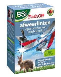 BSI Flash Off afweerlint tegen vogels en wild 2 x 125m