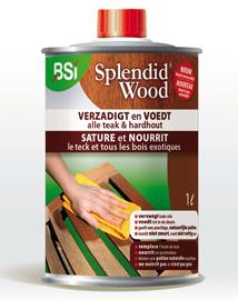 Teak meubelen behandelen met Splendid Wood 1L
