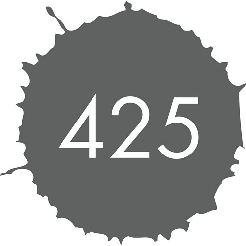 Elho Torino Campana Vierkant 25 cm - antraciet