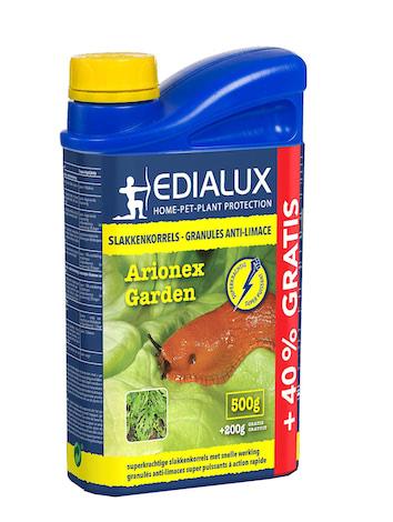 Arionex Garden slakkenkorrels 500g+40% gratis