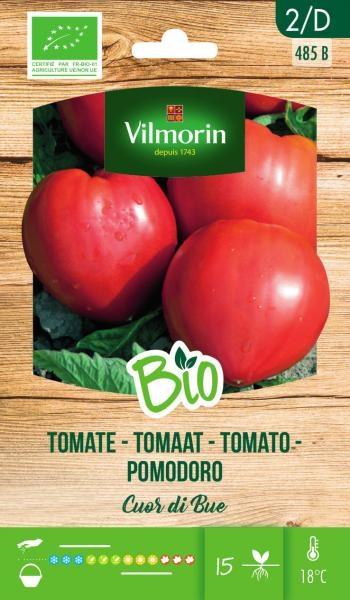 "BIO groentenzaden Tomaat Pomodoro ""Cuor di Bue"""