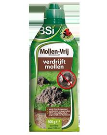 Mollen Vrij BSI Biologisch mollen bestrijden 600g