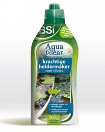 Helder water in zwemvijver of kleine vijver met BSI Aqua Clear 900g