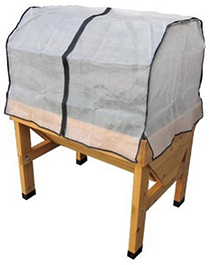 Vegtrug beschermingsfolie zonder frame