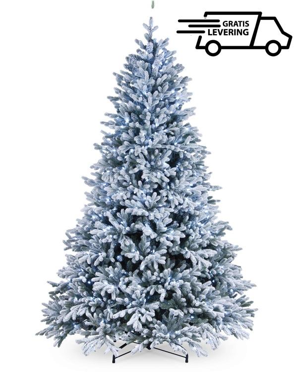 Besneeuwde kunstkerstboom Snowy Mountain L 213 cm