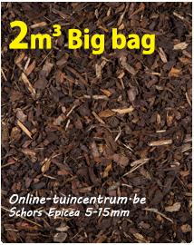 Belgische sierschors 5-15 mm/big bag 2 m³