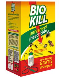 BSI Bio Kill universeel insecticide 4L + gratis drukspuit