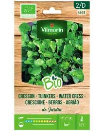 Bio groenten zaden Cresson De Jardin 1,5g