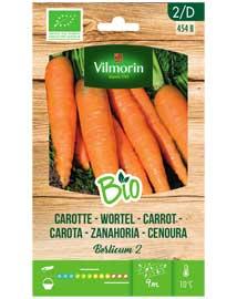 Bio groenten zaden Wortel Berlicum 2 3g