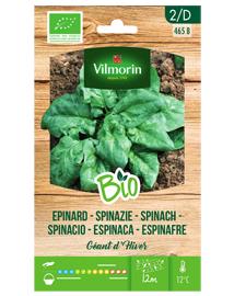 Bio groenten zaden Spinazie Géant d'Hiver 10g