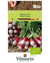 Bio groenten zaden Radijs 18-Daagse 8g