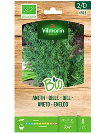 Bio Dille zaden van Vilmorin zaaien in volle grond of pot 2,5g