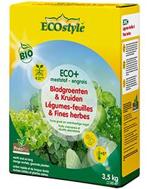 Ecostyle Mest voor Bladgroenten & Kruiden ECO+ 35m²