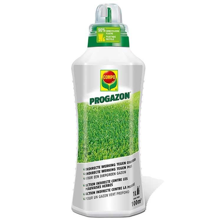 Bladvoeding met indirecte werking tegen onkruid en mos Progazon 100 m²