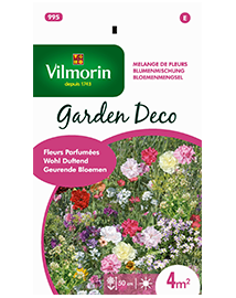 Bloemenmengsel zaden Geurende bloemen voor in de tuin 8g