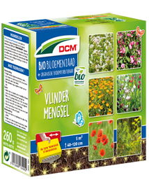 DCM BIO Bloemenmengsel Vlinders lokken in tuin 260g