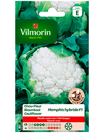 Vilmorin Bloemkool zaden Memphis Hf1 0,5g