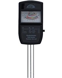 Bodemtester 4 in 1 pH meter voor zuurtegraad, voeding, licht en vochtigheid