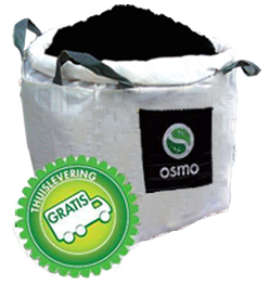 Bodemverbeteraar voor aanleg gazon per big-bag van 1m³