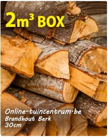 Brandhout Berk ovendroog 30cm bestellen per 2m³