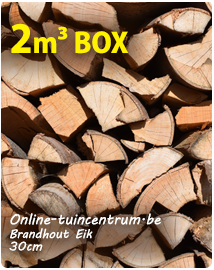 Brandhout Eik 30cm ovengedroogd kopen per 2m³
