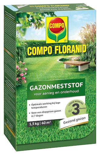 COMPO Floranid Gazonmeststof Aanleg & onderhoud 60m²
