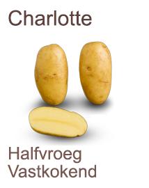 Pootaardappelen Charlotte 2,5 kg