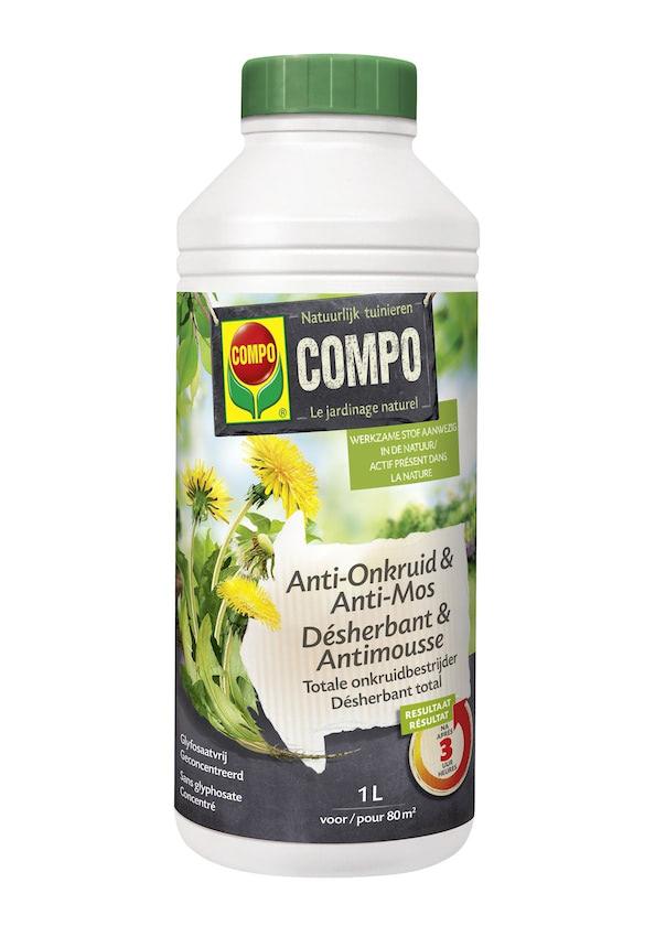 Compo Biologische onkruidverdelger en mosbestrijder 1L