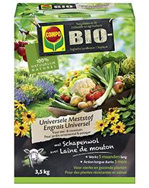 Compo Bio Meststof Universeel voor tuin 3,5Kg