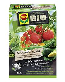Compo Bio Meststof voor Tomaten en Kruiden 1,2Kg