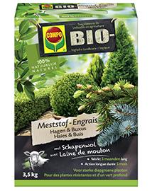Compo Bio Meststof voor Buxus en Hagen 3,5Kg
