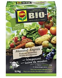 Compo Bio Meststof Groenten en Fruit 3,5Kg