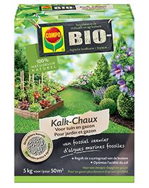 Compo Bio Kalk voor Tuin en Gazon 5Kg