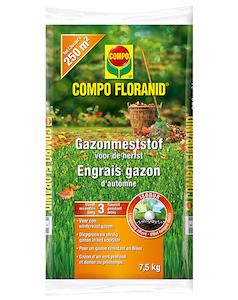 Compo Floranid Gazonmeststof Herfst 250 m²