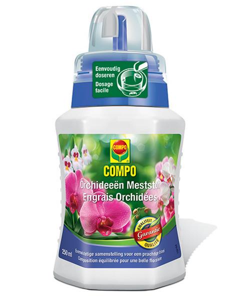 Compo meststof voor Orchideeën 250 ml