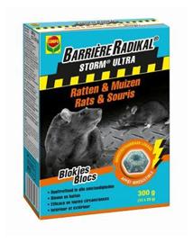 Storm Ultra muizen en rattengif blokken voor binnen/buiten 300g