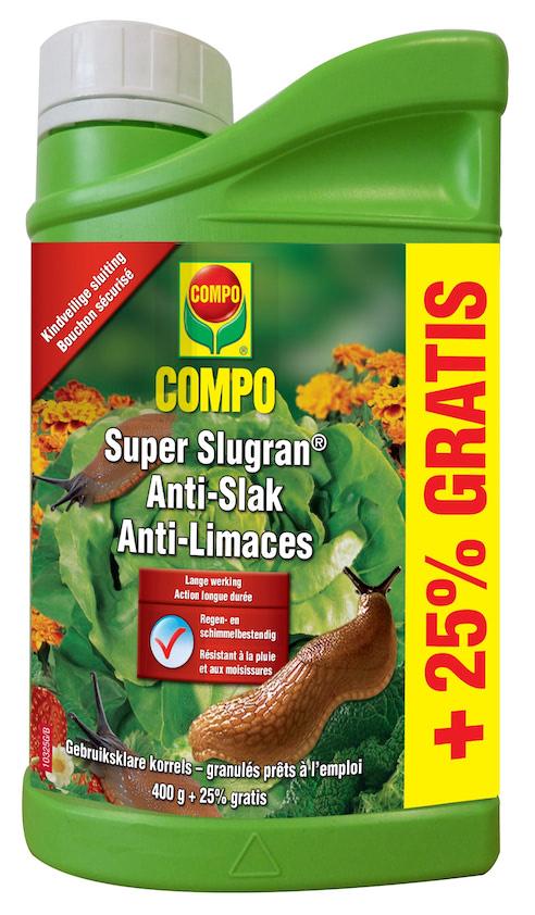 Compo Slugran Slakkenkorrels 400g + 25%